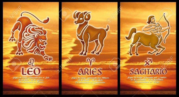 11126347-zodiac-sign-of-fire-Stock-Photo-signs